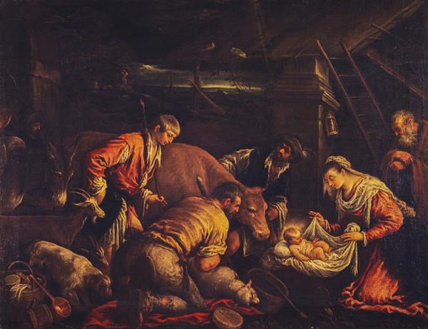 The Adoration of the Shepherds (perhaps 1580s)