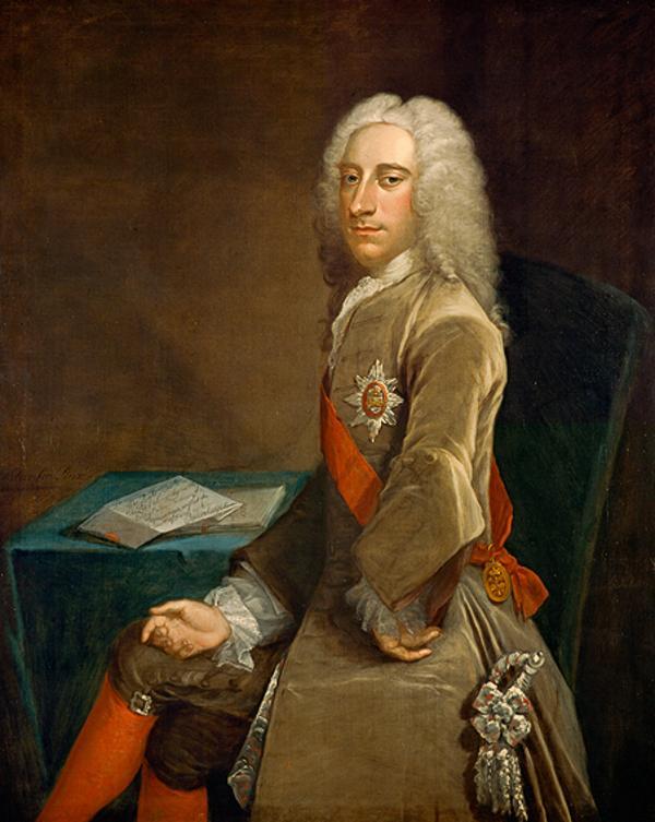 John Campbell, 3rd Earl of Breadalbane, 1696 - 1782. Statesman and diplomat (1730)