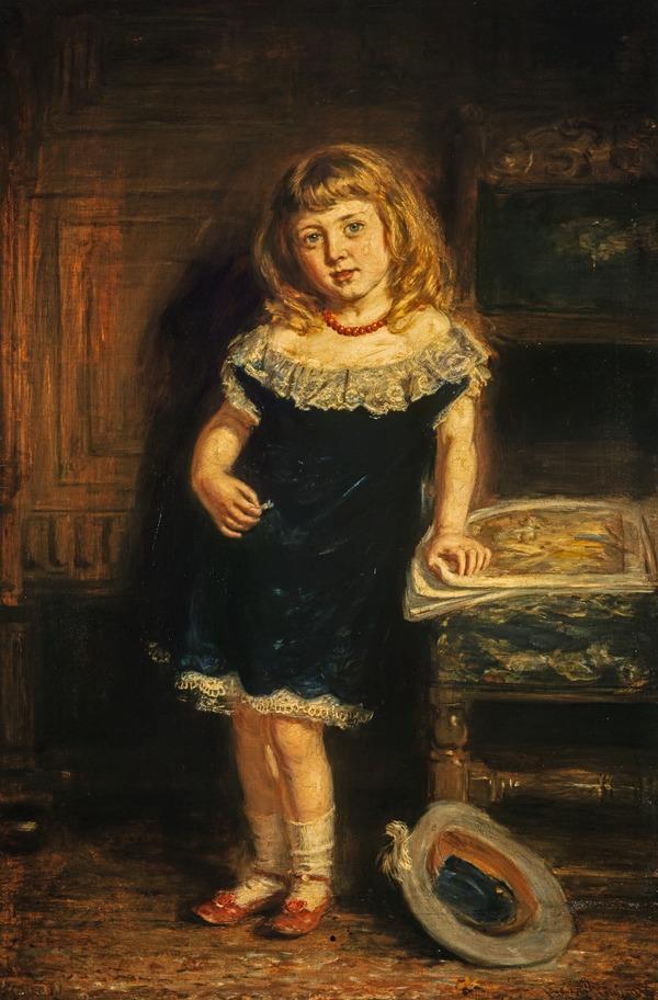 Molly (Mary Gavin, 1870 - 1942) (Exhibited 1874 (RSA))