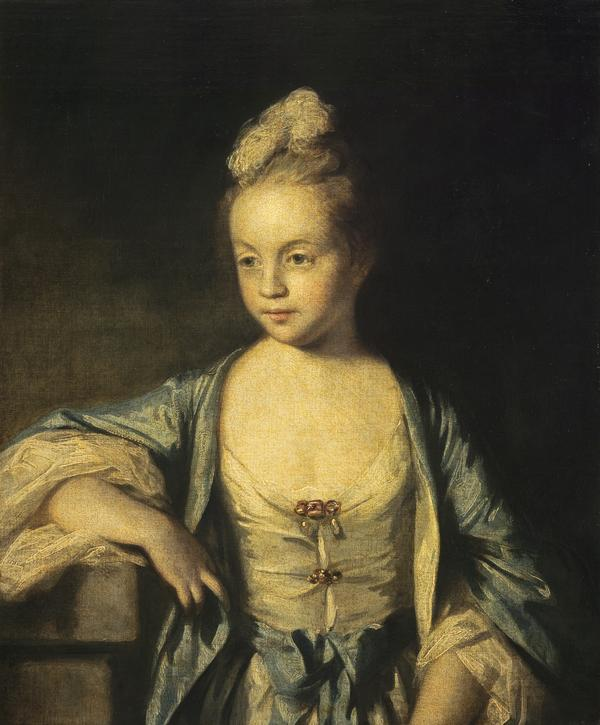 A Little Girl (possibly Lady Frances Scott, later Lady Douglas, 1750 - 1817)