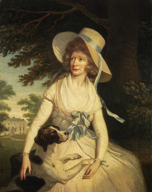 Lilias Seton, Lady Steuart of Allanton (died 1821) (Dated 1789)
