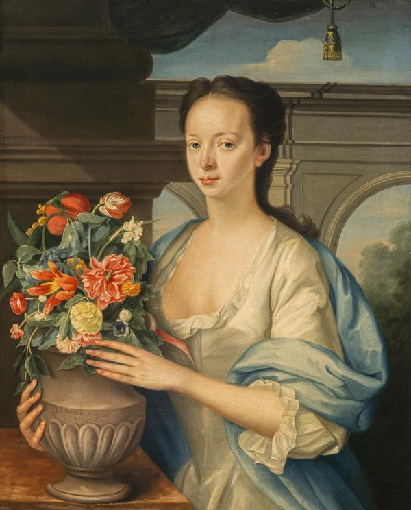 Elizabeth Drummond, Mrs James Stuart (Dated 1740)
