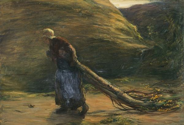 A Study for 'A Toiler of the Hills' (NG 1444) (About 1870)