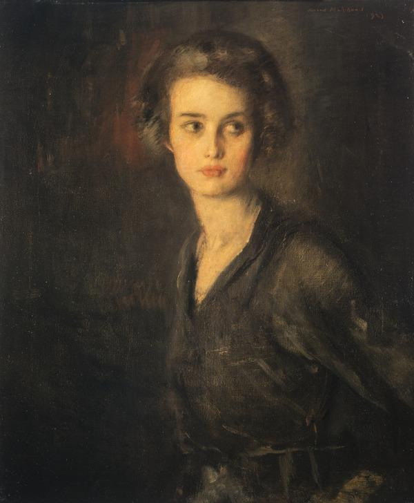 Portrait of a Lady (Dated 1923)