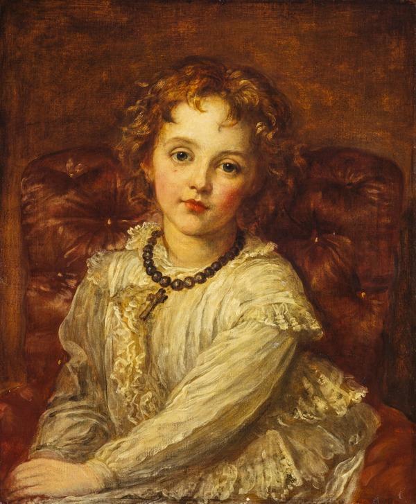 Caroline Muriel Callander, later Mrs Baird (c 1861 - 1932) (1860 - 1865)