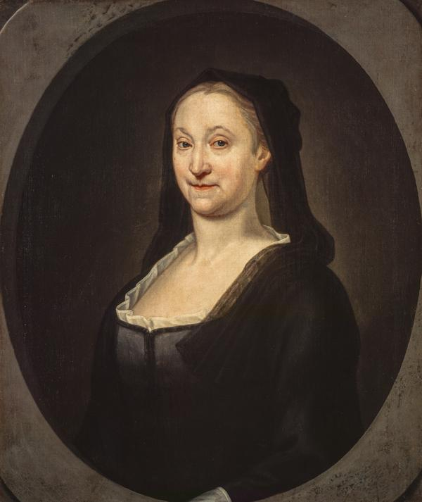 Portrait of an Old Lady, possibly Margaret Gordon, Mrs Alexander Duff of Braco (1668/9 - 1780) (1736)