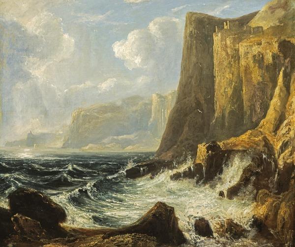 A Cliff Scene (Fast Castle)