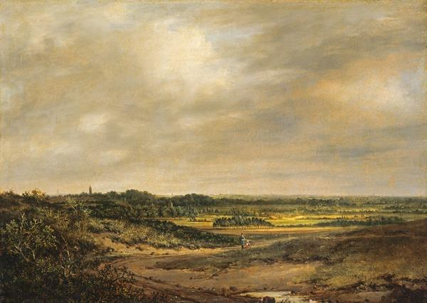 An English Landscape (Dated 1830)