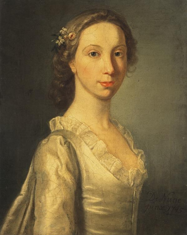 Portrait of a Young Lady (Dated 1745)