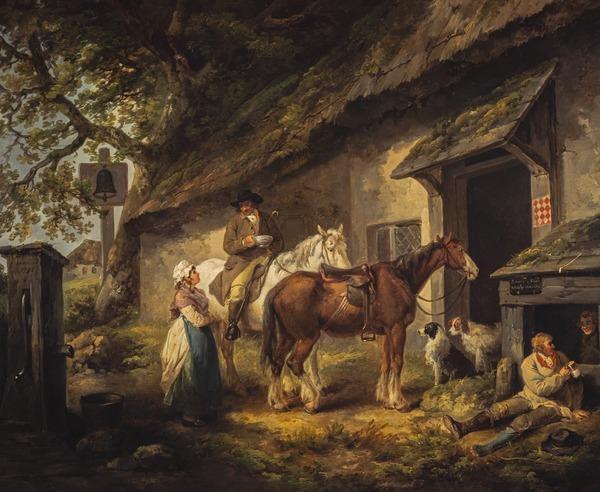 The Public House Door (Dated 1792)