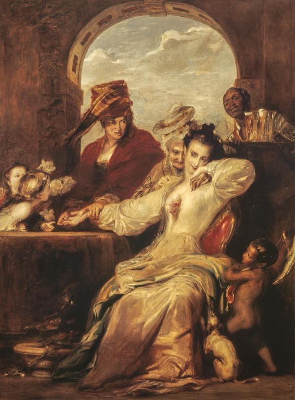 Josephine and the Fortune-teller (Dated 1837)