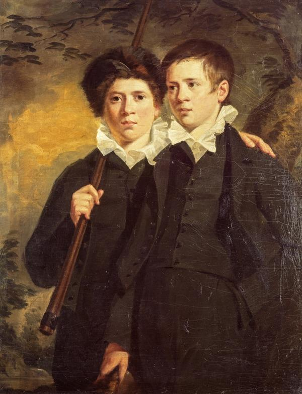 Portrait of Two Boys, called the Artist's Twin Brothers (About 1816)