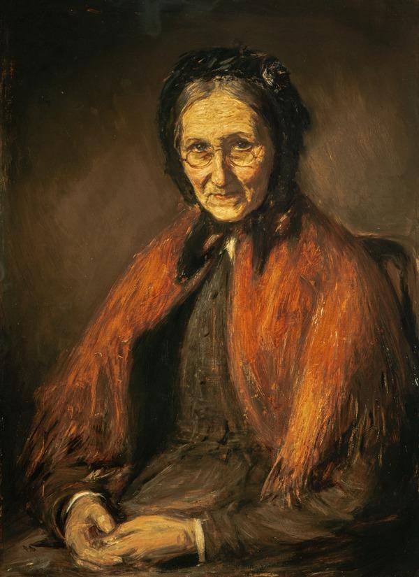 The Artist's Mother (Barbara Brodie or Brolochan, Mrs Dugald McTaggart, died 1884)