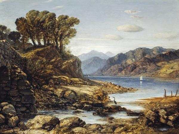 View of Loch Lomond (previously known as Shirrapburn Loch)