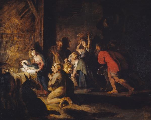 The Adoration of the Shepherds (About 1614 - 1616)