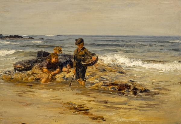 The Bait Gatherers (1879)