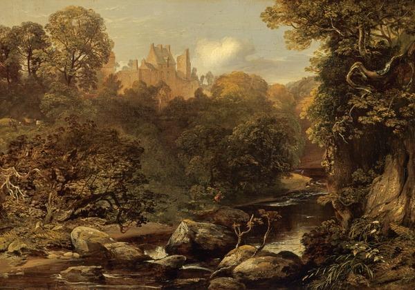 Rosslyn Castle (by 1843)