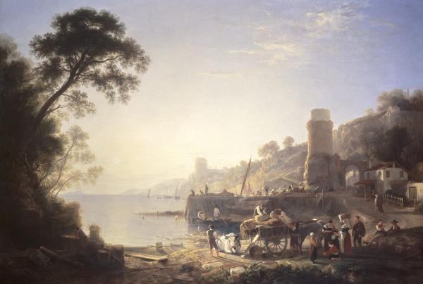 Evening in the Bay of Genoa (1821)