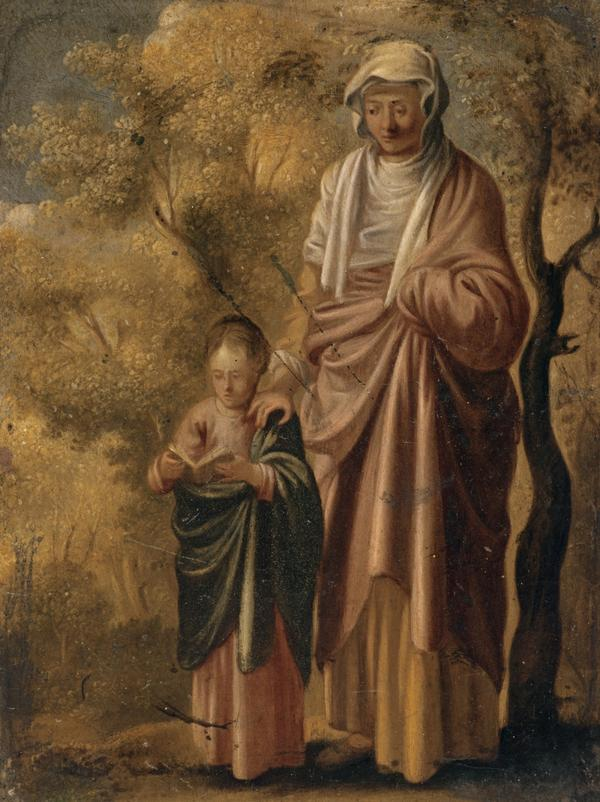 The Young Virgin Mary with Saint Anne (About 1610 - 1630)