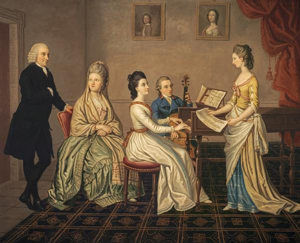 James Erskine, Lord Alva (1722 - 1796) and his family (Dated 1780)