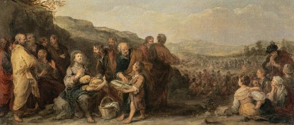 The Miracle of the Loaves and the Fishes (About 1667 - 1682)