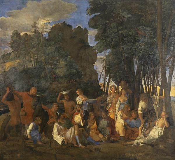 The Feast of the Gods (About 1625 - 1650)