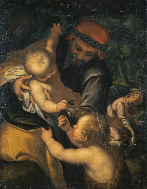 The Rest on the Flight into Egypt (About 1580 - 1620)