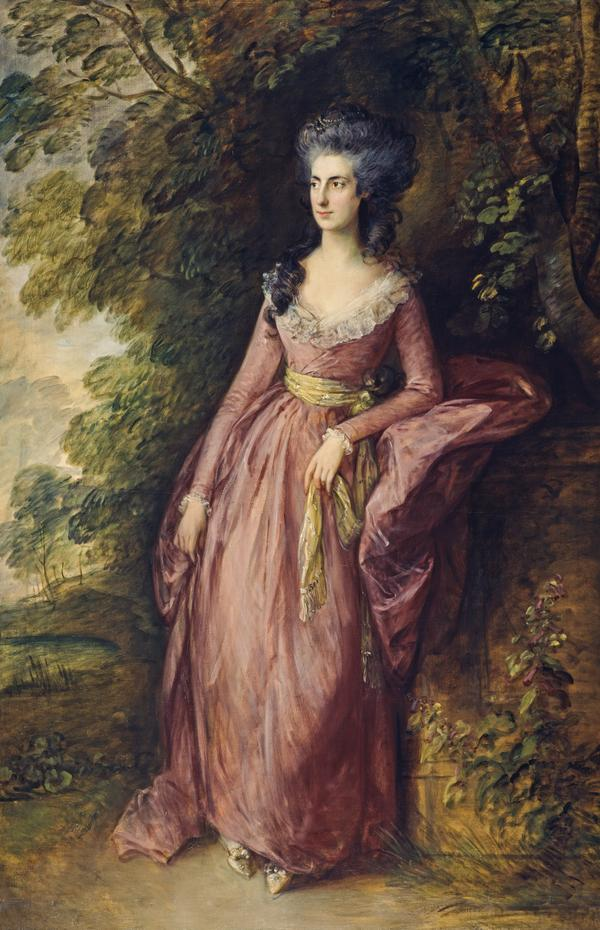 Mrs Hamilton Nisbet (1756 - 1834) (After 1777 and before 1788)