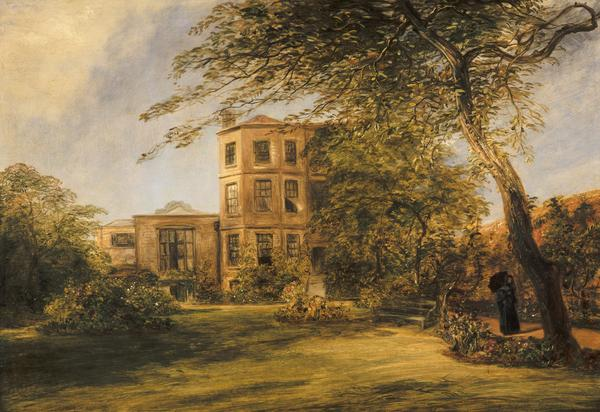 View of Sir David Wilkie's House in Vicarage Place, Kensington (1841 - 1842)