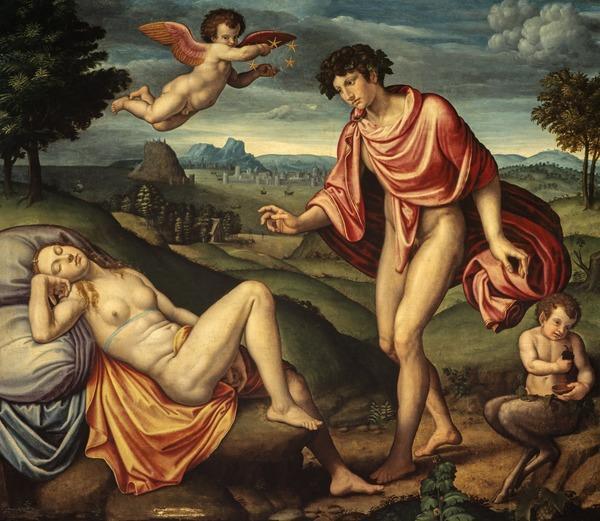 Bacchus and Ariadne (1540 - 1550)