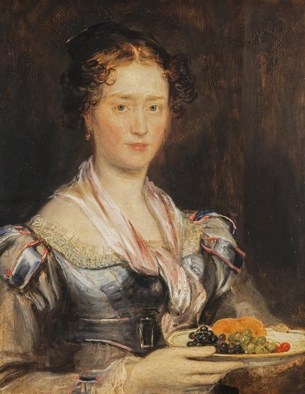 The Artist's Sister (Helen Wilkie, later Mrs William Hunter, 1793 - 1870) (possibly about 1822 / 1823)
