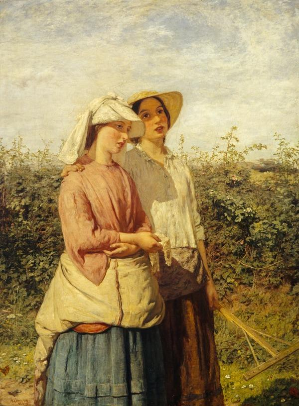 Going to the Hay (Dated 1858)