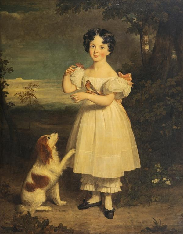 Mary Augusta Riddell, later Mrs Cunliffe (1823 - 1879)