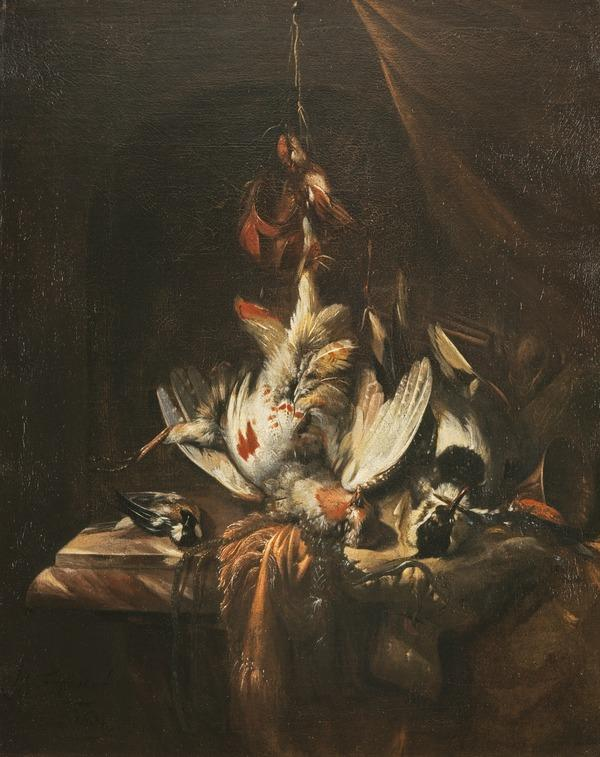 Still-life: Dead Game (Dated 1684)