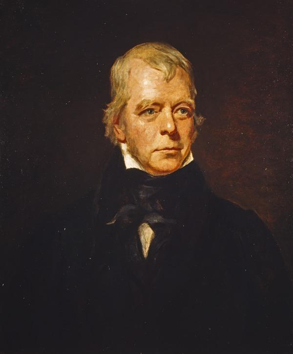 Sir Walter Scott, 1771 - 1832. Novelist and poet (1829)