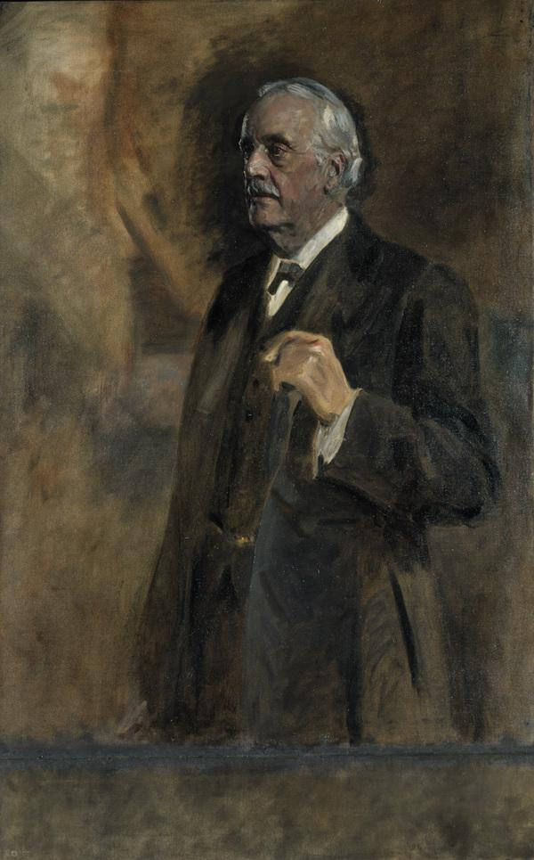 Arthur James Balfour, 1st Earl of Balfour, 1848 - 1930. Statesman (About 1920)