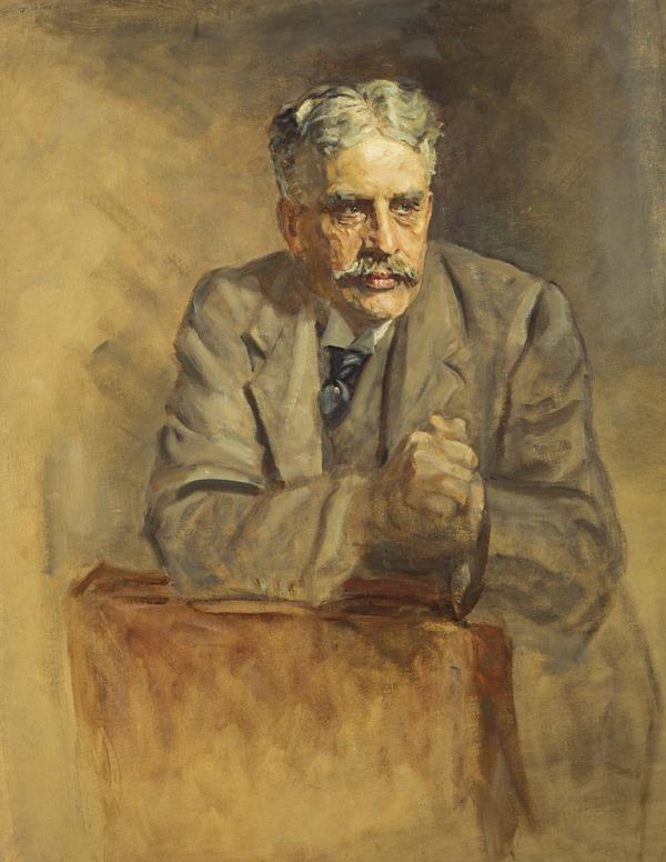 Sir Robert Laird Borden, 1854 - 1937. Prime Minister of Canada. (Study for portrait in Statesmen of the Great War, National Portrait Gallery,... (1918 - 1930)