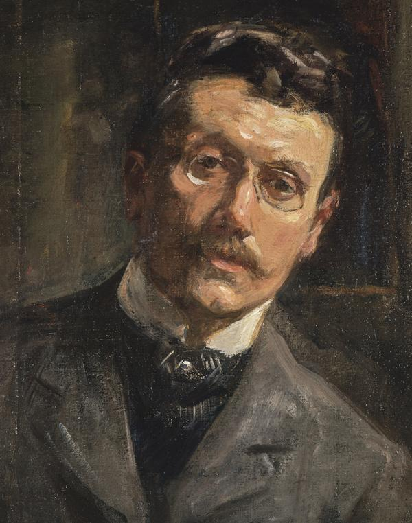 Alexander Ignatius Roche, 1861 - 1921. Artist (Self-portrait) (About 1890)