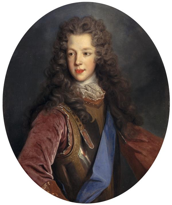 Prince James Francis Edward Stuart, 1688 - 1766. Son of James VII and II (1700)