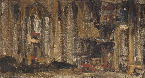 Interior of Milan Cathedral (1851)