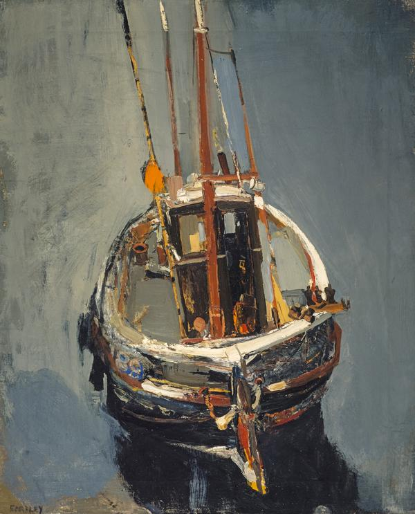 Seine Boat (About 1960)