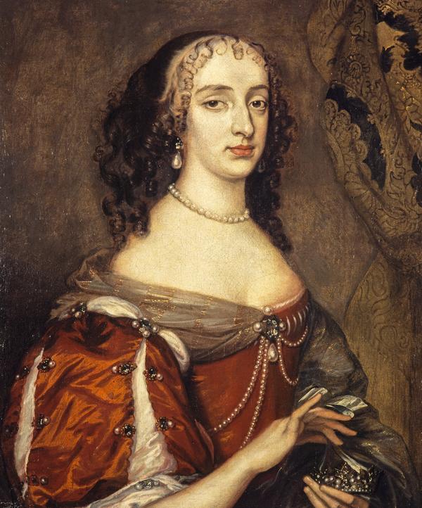 Princess Mary, 1631 - 1660. Eldest daughter of Charles I; Princess of Orange (1659)