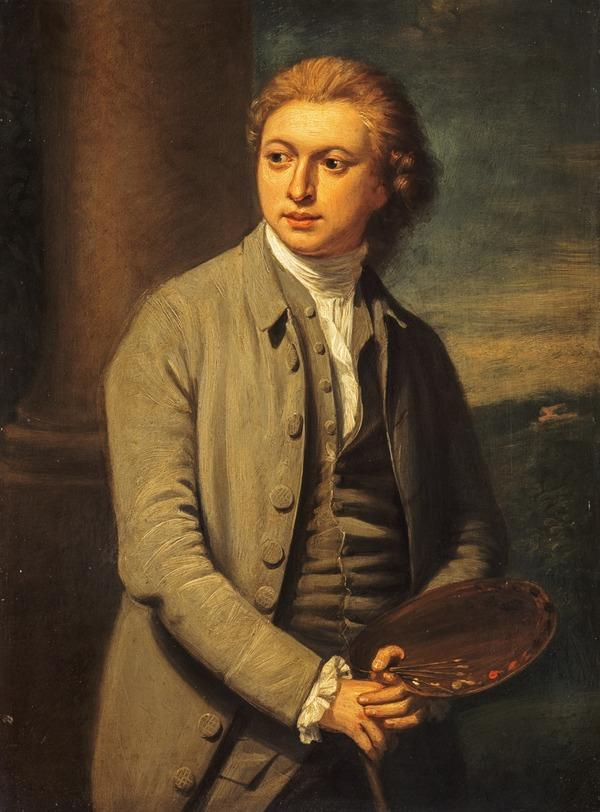 George Steuart, about 1735 - 1806. Artist and architect (Dated 1775)