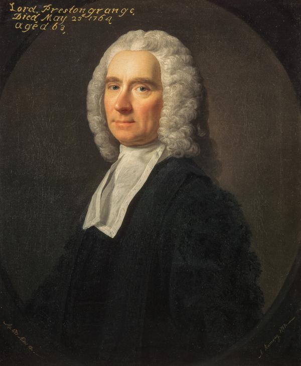 William Grant, Lord Prestongrange, about 1701 - 1764. Judge (1751)