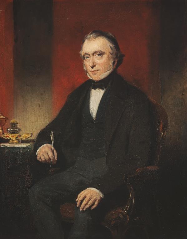 Thomas Babington, 1st Baron Macaulay, 1800 - 1859. Historian and statesman (1850)