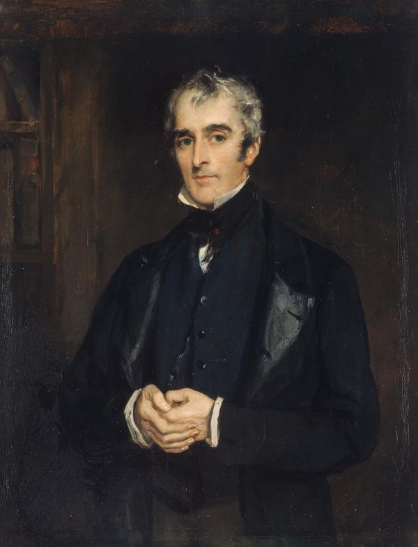 John Gibson Lockhart, 1794 - 1854. Son-in-law and biographer of Scott (About 1850)
