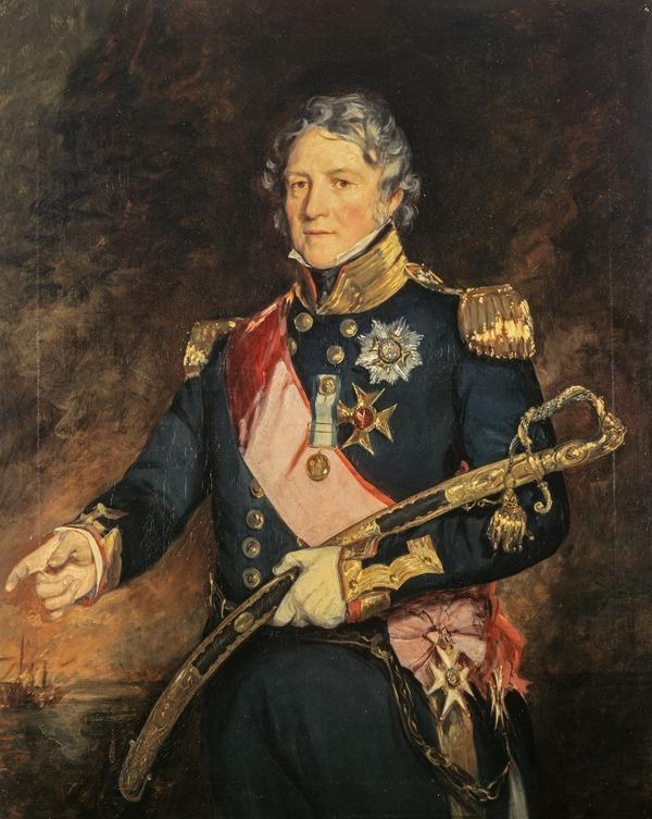 Admiral Sir Philip Charles Henderson Calderwood Durham, 1763 - 1845 (About 1830)