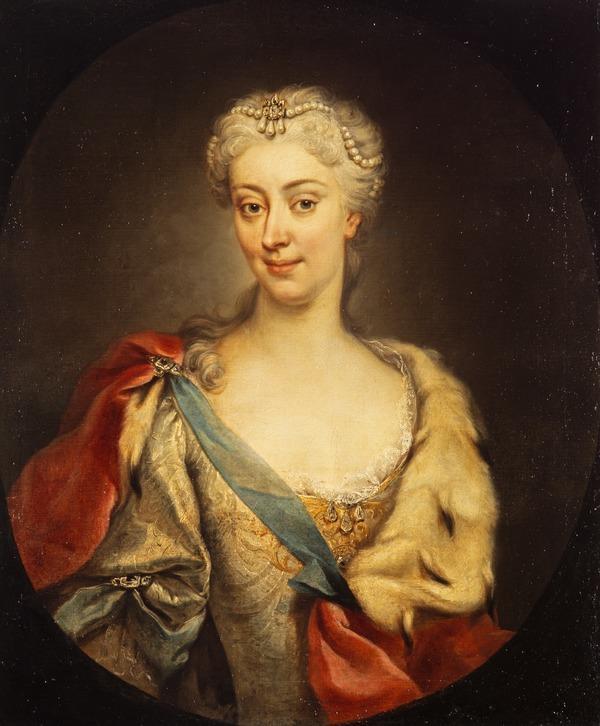 Princess Maria Clementina Sobieska, 1702 - 1735. Wife of Prince James Francis Edward Stuart (1727 - 1728 (after original of 1725))