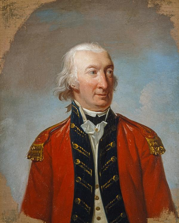 Lord Adam Gordon, c 1726 - 1801. General; Commander of forces in Scotland 1782 - 1798. (Dated 1799)