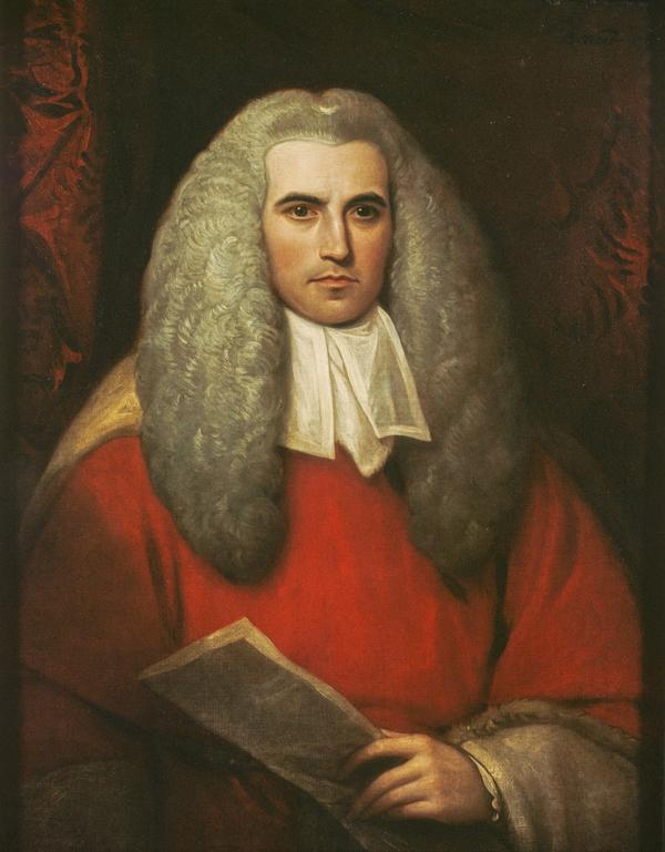 Sir Thomas Strange, 1756 - 1841. Chief Justice in Madras (1799)